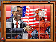 Obama ve Spiderman