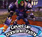 Level up Dünyanın Fatihi